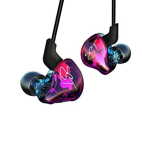 Yinyoo KZ ZST auriculares, estructura balanceada + driver dual...