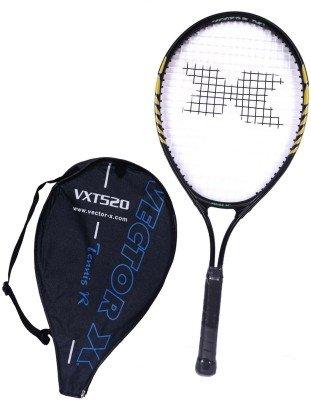 Vector X Vxt 520 25 inches Strung Tennis Racquet (Yellow,Black)