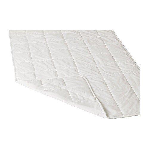 IKEA KUNGSMYNTA Matratzenschoner in weiß; (90x200cm)