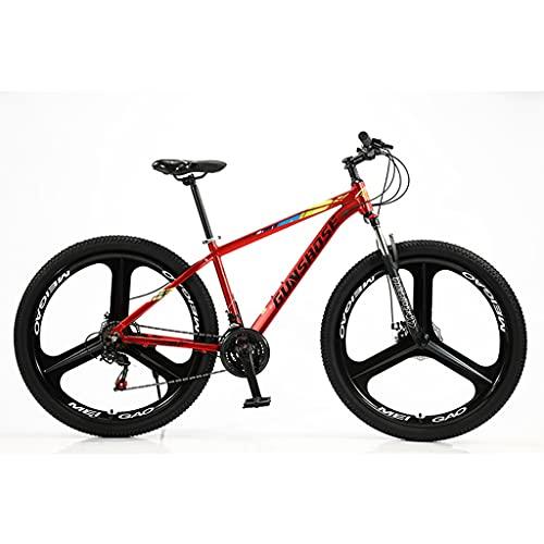 LHQ-HQ Bicicleta De Montaña De Aleación De Aluminio para Adultos, Rueda De 29', 24 Velocidades, Suspensión De Horquilla, Freno De Disco, Bicicletas MTB Adecuadas para Una Altura De 5.5 A 6.5 Pies