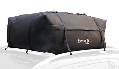 Elements Outdoor Roof Top Cargo Carrier Bag – 15 Cubic Feet