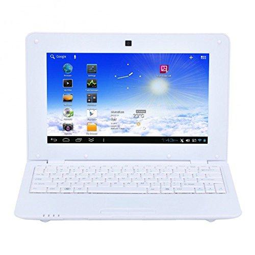 Mini PC Android 4.4 Netbook Ultrabook 10 Zoll WiFi 8 GB Weiß