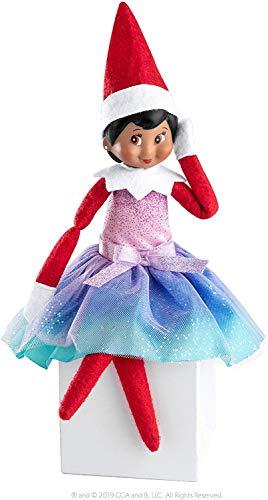 WULEEUPER Tiny Baby Elf Doll | Christmas Miniature Elf Doll | Baby Elves Dolls Toys | Xmas Decoration Gift (Pink Girl)