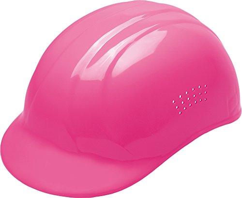 ERB Safety 039-19115 67 Bump Cap, 4 Point Plastic Suspension, Polyethylene, Adjustable, Hi-Viz Pink