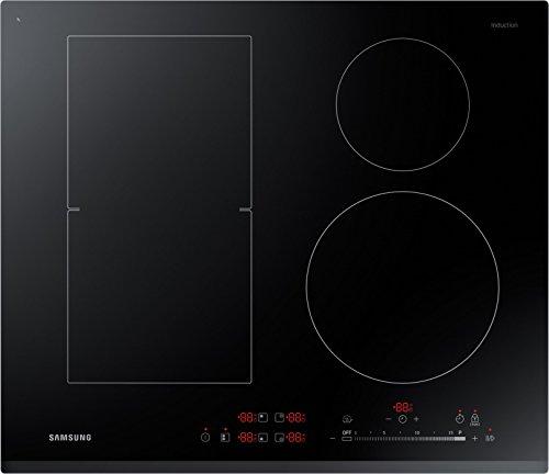 Samsung NZ64K5747BK/EG Kochfeld (Elektro/Einbau)/3 60 cm/Anydish/Warmhaltefunktion/Pause/Quickstart/Schwarz