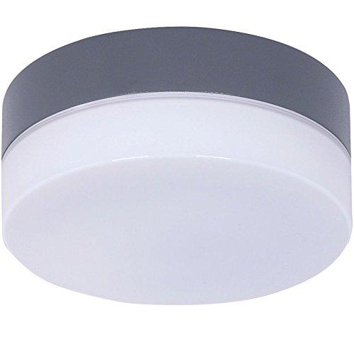 Beleuchtung Clipper für Deckenventilator von Lucci air, Charcoal, inkl. LED-Leuchtmittel GX53, 11 W