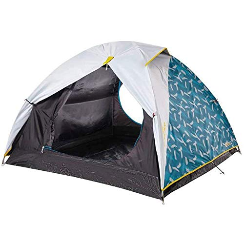 DWLXSH Double Layer Dome Tent, Camping Tent, 3 Person Dome Tent Professional Waterproof & Windproof Double Layer Suitable For Hiking, Outdoor Glamping, Fishing And Travel