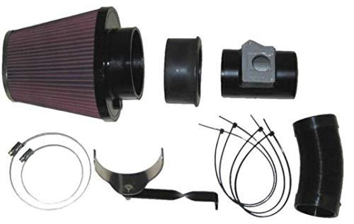 K&N 57-0599 Waschbarer und wiederverwendbarer KFZ Hochleistungsluftfiltersystem