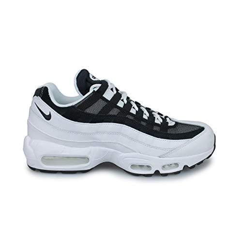 Nike Air MAX 95, Zapatillas para Correr para Hombre, White Black, 44 EU