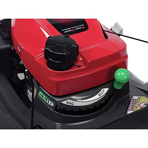 Honda 664140 HRX217HZA GCV200 Versamow System 4-in-1 21 in. Walk Behind Mower with Clip Director, MicroCut Twin Blades, Roto-Stop (BSS) and Electric Start