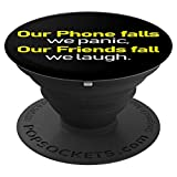 Phones Friends Friendly Person PopSockets Grip and Stand for Phones and Tablets