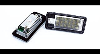 LED Number License Plate Lamp Light For Audi A3 8P A4 S4 RS4 B6 B7 Q7 A6 S6 C6 A8 S8