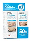 ISDIN Nutratopic Pro-Amp, Duplo Crema Facial Para Piel Atópica, 50 Ml 2A Unidad 50% Extra 100 ml