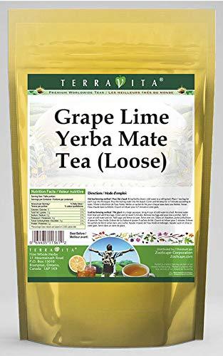 Grape Cheap mail order shopping Max 58% OFF Lime Yerba Mate Tea Loose 4 ZIN: 565528 3 oz - Pack