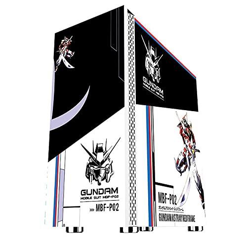 BBNB Cajas Informáticas, Mediados De La Torre Ordenador Personal Caja De Juegos ATX/M-ATX/ITX - Parte Delantera E/S USB 3.0 Panel Lateral De Vidrio Templado De Puerto - Sistema De Gestión De Cables -