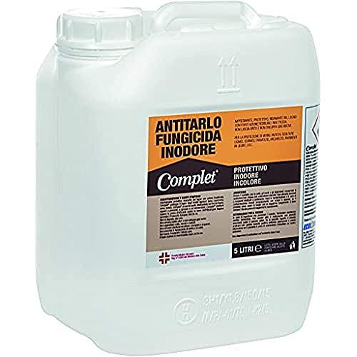 Complet ANTCOM005L Antitarlo Fungicida Protettivo Inodore Incolore, 5 l (Confezione da 1)