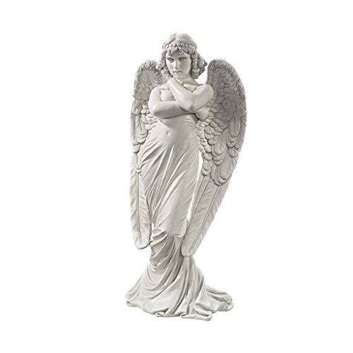 Design Toscano DB383094 1882 Monteverde Angel Statue, White
