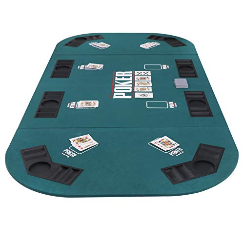 Smartxchoices Folding Poker Table Top Portable 71