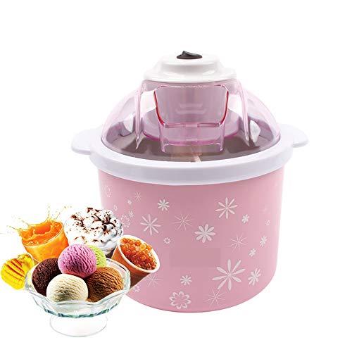 Con una máquina de helados, puede hacer sus propias delicias en menos de 30 minutos, ¡sin necesidad de congelarlas previamente! Disfrute con su familia de helados, gelato, yogur, sorbetes o sorbetes caseros listos para usar. Esta máquina de helados t...