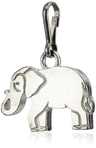 Alex and Ani Women's Elephant Charm Sterling Silver, Expandable (CS18E05S)