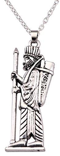 VASSAGO - Collar con Colgante de Amuleto del Señor de los Mitos Egipc