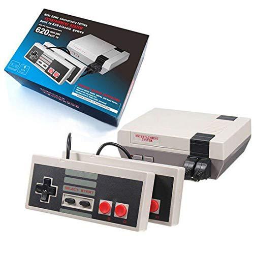 Classic Mini TV Game Console 8-Bit-integriertes 620-Videospielgerät mit AV-Ausgang und Videospiel