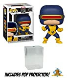 Marvel 80th Anniversary X-Men Cyclops First Appearance Vinyl Figure Featuring Golden Groundhog Plastic Protector Bundle -  GG
