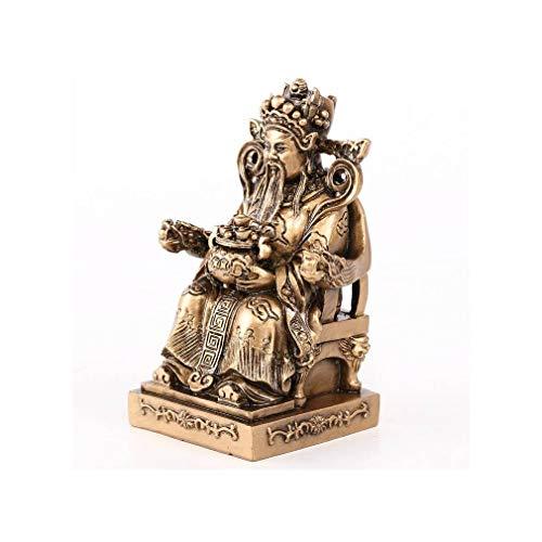 Statuette Dieu Chinois Protecteur TUDIGONG - Bonheur et Fortune dans la Maison