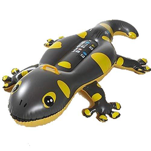Gecko Rider Waterruiterspeelgoed, matras met handvat, 2 luchtkamers 160 cm
