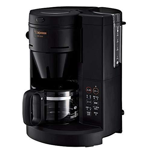 象印マホービン コーヒーメーカー 全自動 540ml/4杯用 珈琲通 ブラック EC-SA40-BA