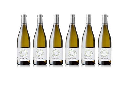 Celler Coop. Gandesa | Vino Blanco Joven Somdinou 2018 | D.O. Terra Alta |Pack de 6 botellas de 75cl.