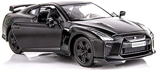 Hermry 1/36 escala Gtr r35 Supercar modelo de juguete de zinc de la aleación de zinc de la fusión de los vehículos de la espalda de los vehículos for niños for 4 5 6 años de edad, niña, regalo, niños,