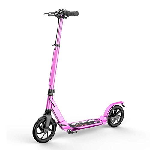 Buy Cheap HNSYDS Scooter with 2 Large Wheels for Children Foldable Girls, Adult Adjustable Height - ...