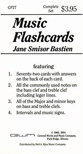 Price comparison product image Bastien Music Flashcards