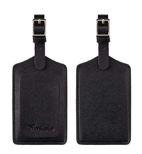 of travelambo luggages Travelambo Leather Luggage Bag Case Tags