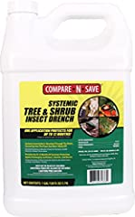 For use on outdoor trees and shrubs, including listed fruit and nut trees Controls aphids, emerald ash borers, Japanese beetles, birch leaf miners and other listed insects for up to 12 months with one application Insecticide absorbed through the root...