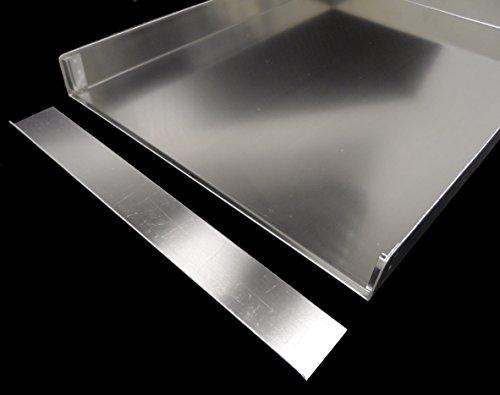 SCHNITTENBLECHE KUCHENBLECHE 58,5x40 HÖHE 5cm INCL. VORSTELLSCHIENE