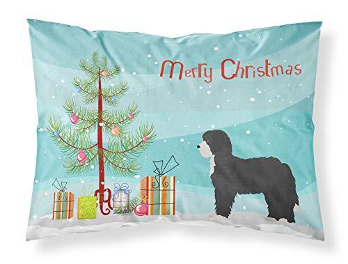 Caroline Treasures - Funda de Almohada estándar de Tela para árbol de Navidad, diseño de Oveja, Multicolor