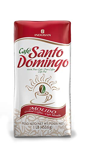 Santo Domingo Coffee, 16 oz Bag, Ground Coffee - Product from the Dominican Republic