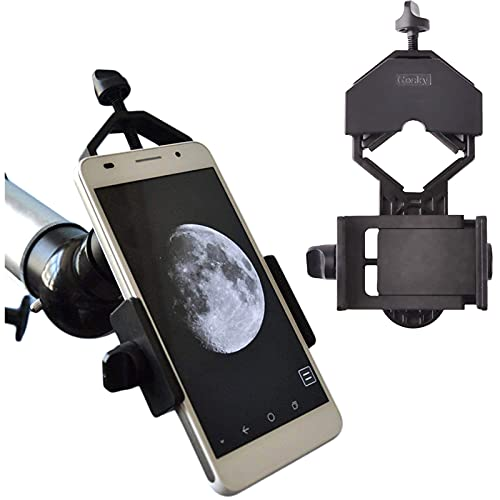 Solomark Universal Cell Phone Adapter Mount - Compatible with Binocular...