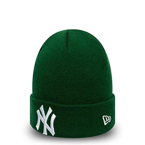 New Era Gorro Beanie MLB League Essential York Yankees Verde-Blanco - Talla única