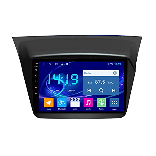 TIANDAO Android 10.0 Radio Satelital para Automóvil Reproductor Multimedia Autoradio Navegador GPS para Mitsubishi Pajero Sport 2006-2016 Soporte WiFi Bluetooth/Control del Volante(Color:WiFi 1G+16G)