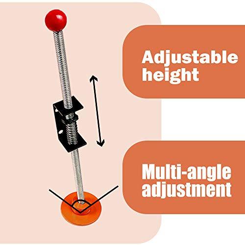 Sidasu Orange Ladder Leveler Pair Extension Ladder Stabilizer Adjustable Feet Levelers Ladder Leveler Feet up to 550LBS Ladder Extension for Stairs