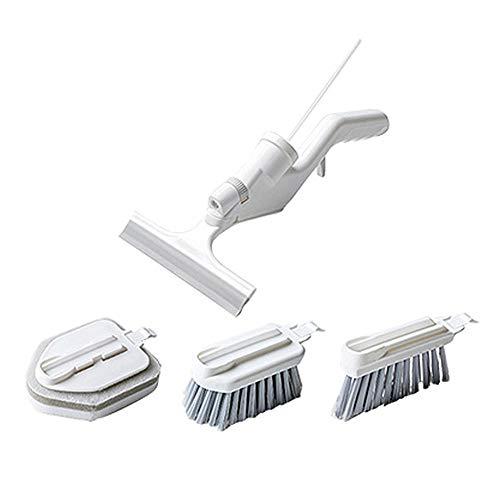 Niikee 5 en 1 - Cepillo multifunción para limpieza de cocina, cepillo de limpieza de azulejos, ventana y puerta