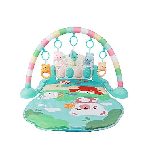 Sufei Gimnasio Piano Pataditas Musical, Baby Educación Temprana Juguetes Musicales Gimnasia De La Actividad con Luz para Bebés Niños Pequeños Recién Nacido 0-18 Meses