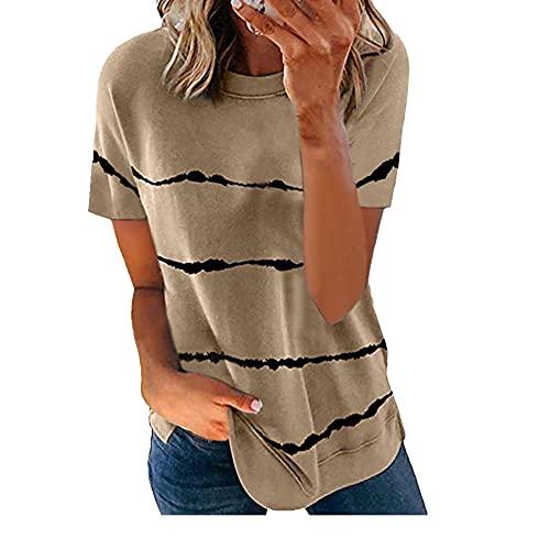 N\P Otoño top señoras corbata camiseta casual manga corta suelta camiseta señoras