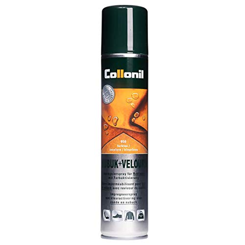 Collonil Nubuk & Velours 1592 Pflegesprays Velours-Leder 200 ml (200 ml, Farblos)