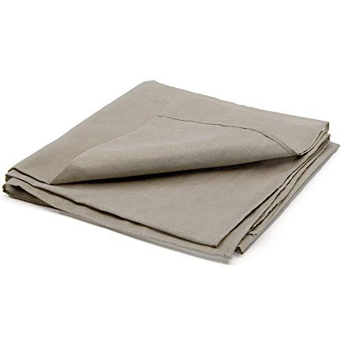 SYB Bandana, Unisex EMF Strahlenschutz; 65% Silber, 35% Seide; 68 cm x 68 cm