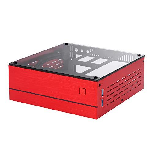 Goodisory A01 Aluminum Mini-ITX HTPC Desktop...
