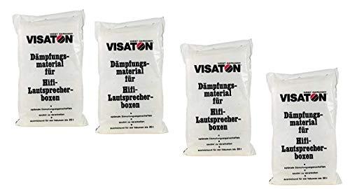 Visaton Lautsprecher Boxen Dämpfungsmaterial 4er Pack